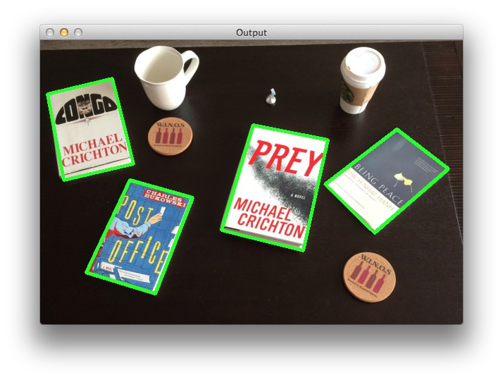A guide to finding books in images using Python and OpenCV
