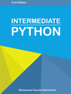 Intermediate Python - cover