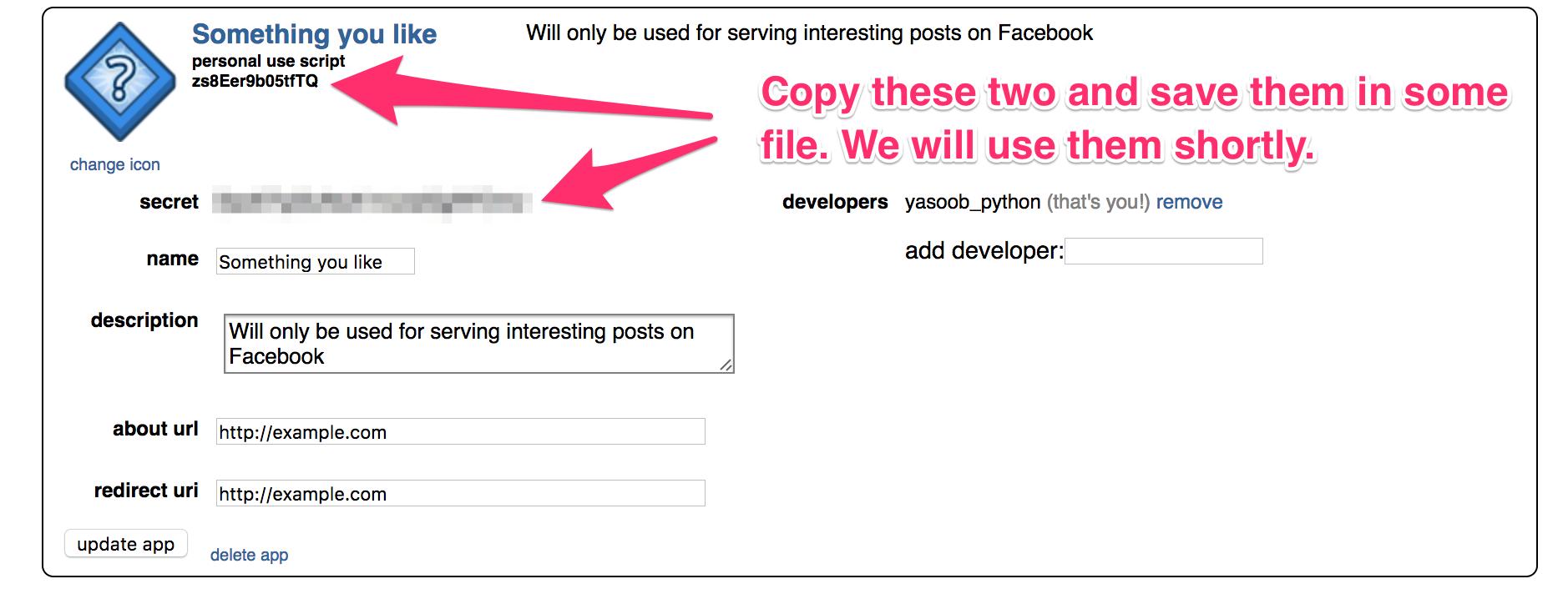 Making a reddit facebook messenger bot python tips baditri Images