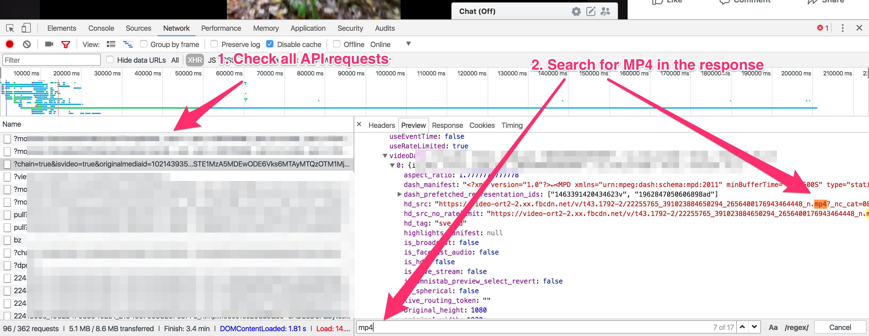 Reverse Engineering Facebook API: Private Video Downloader
