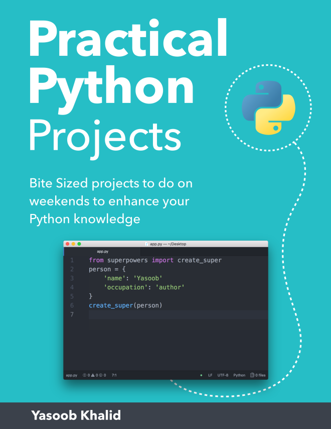Practical Python Projects Book – Python Tips