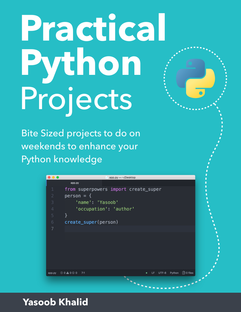 Practical Python Projects Book